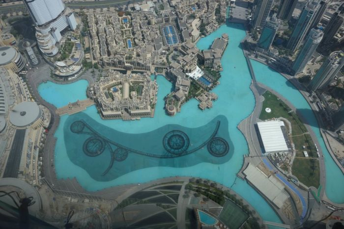 Fontána Dubaj
