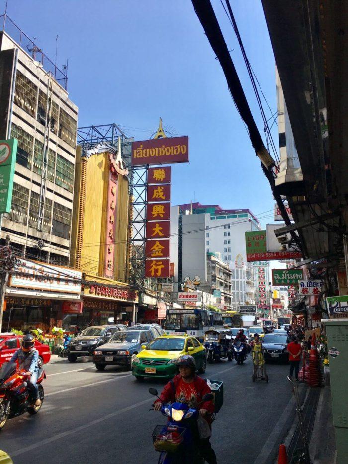 Čínská čtvrť BKK