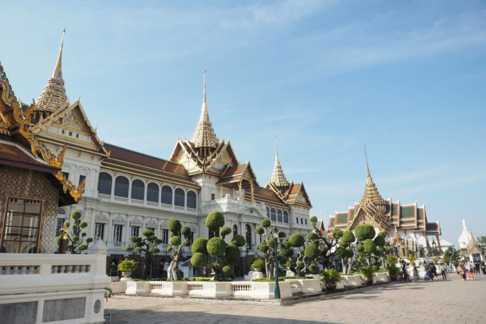 Grand Palace v Bangkoku