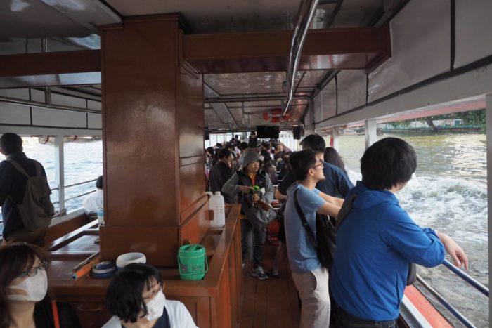 Lodí na Čao Praja