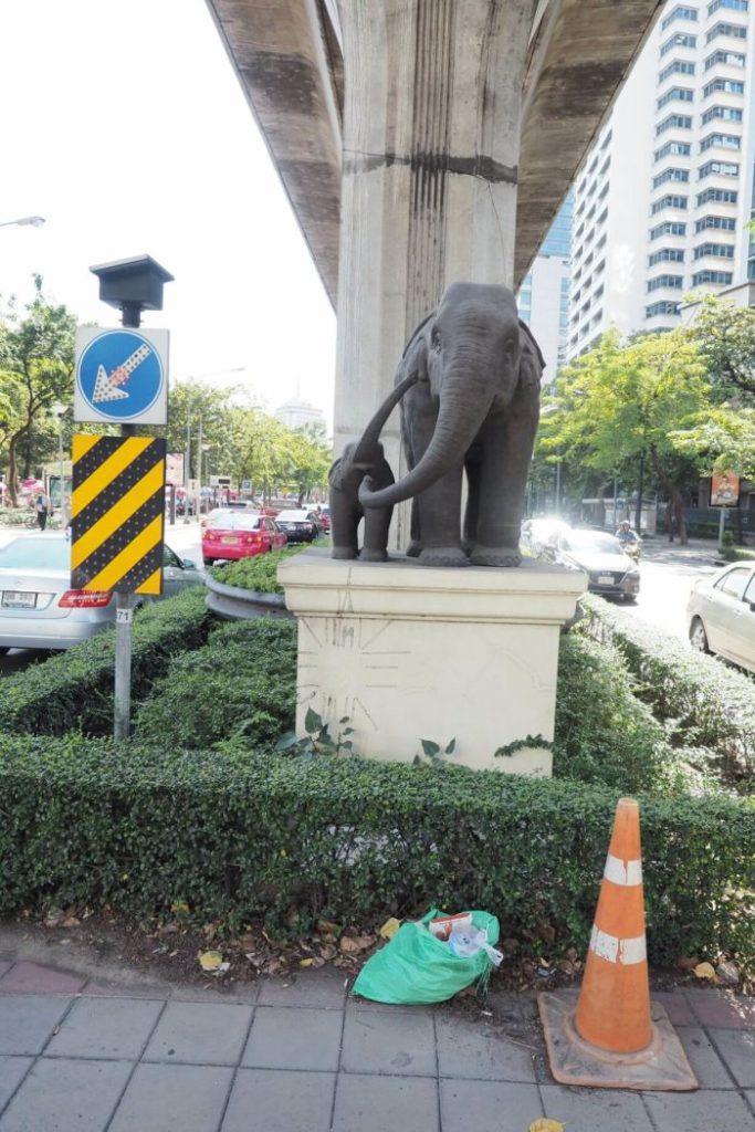 Místní krásy Bangkok