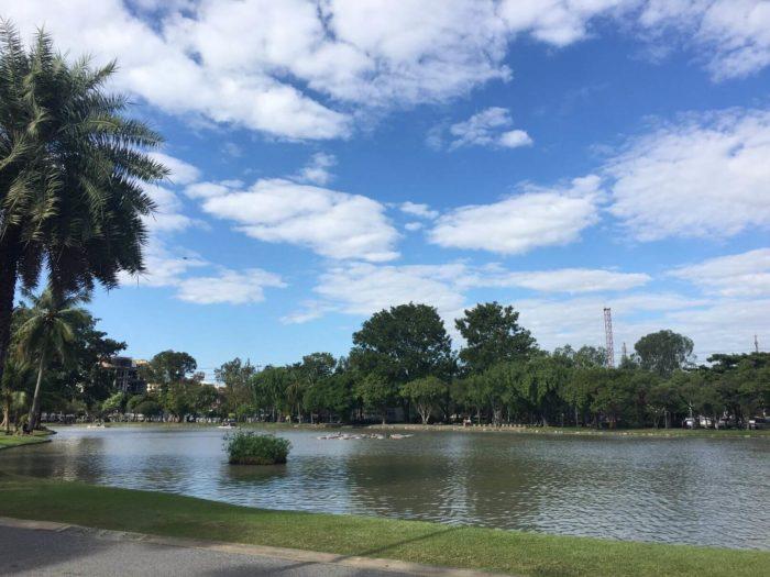 Rybník Chatuchak park