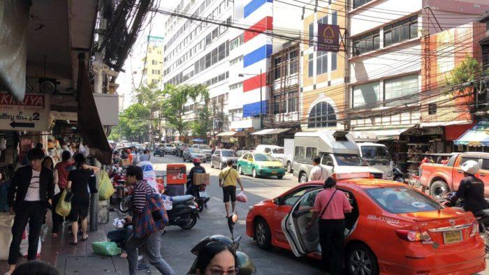 Ulicemi Bangkoku