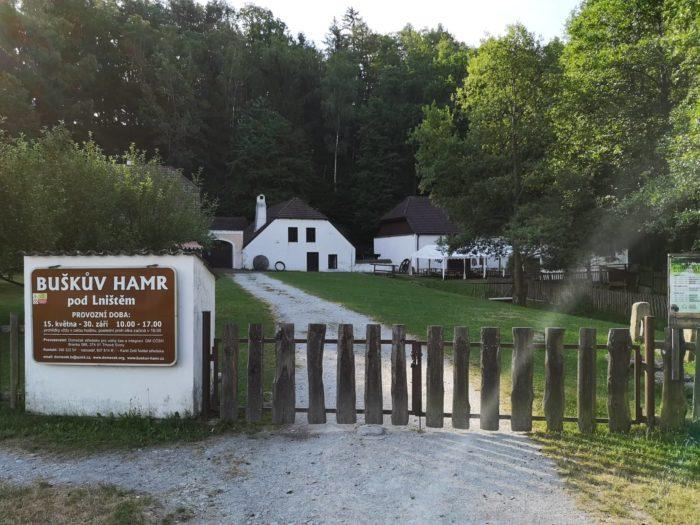 Buškův Hamr brána