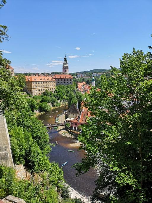 Český Krumlov řeka