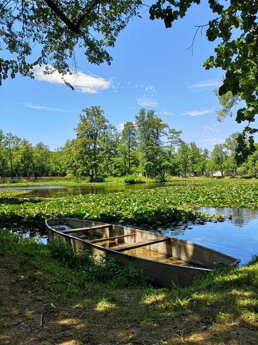 Český Krumlov zámecké zahrady