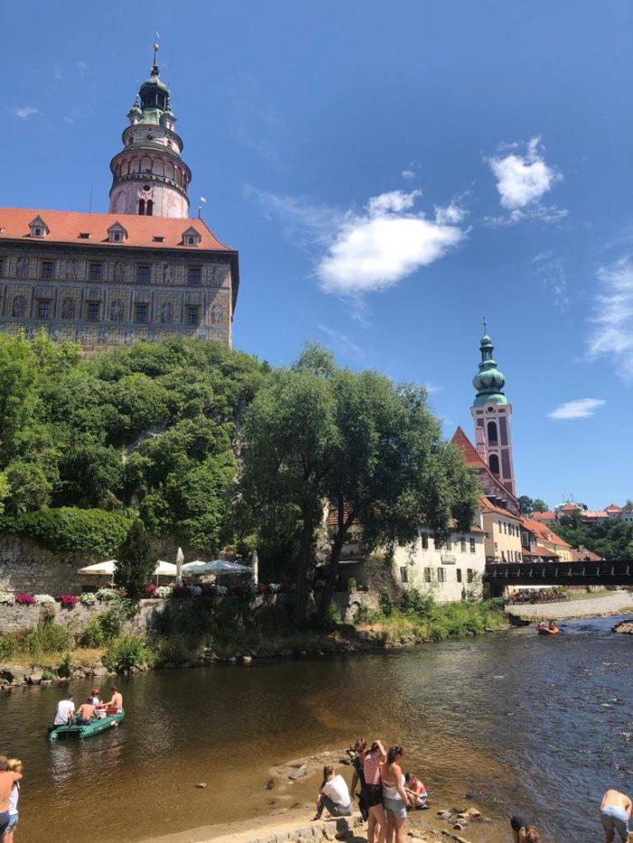 Český Krumlov zámek