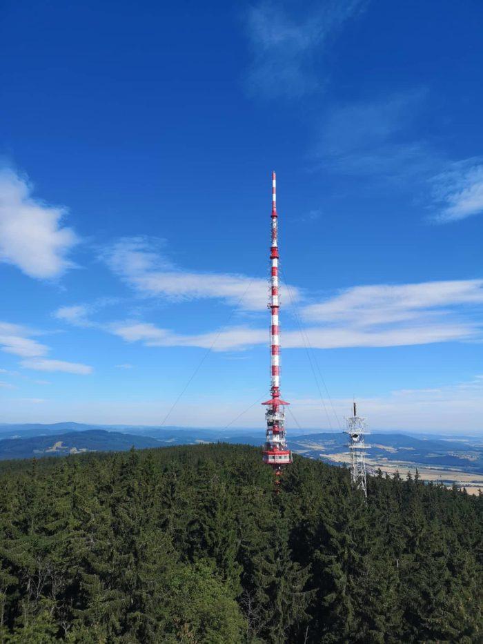 Kleť vysílač