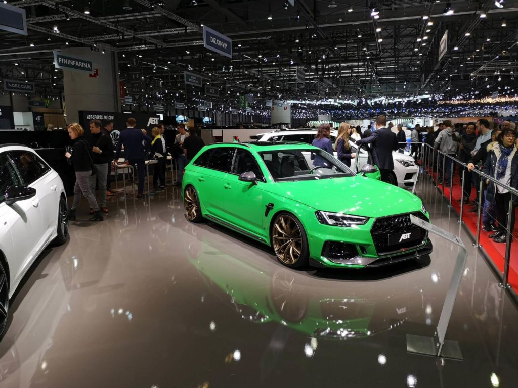 ABT RS4+ Ženeva 2019