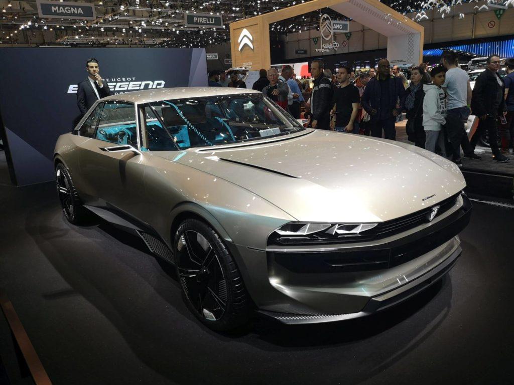 Peugeot e-LEGEND CONCEPT - Ženeva 2019