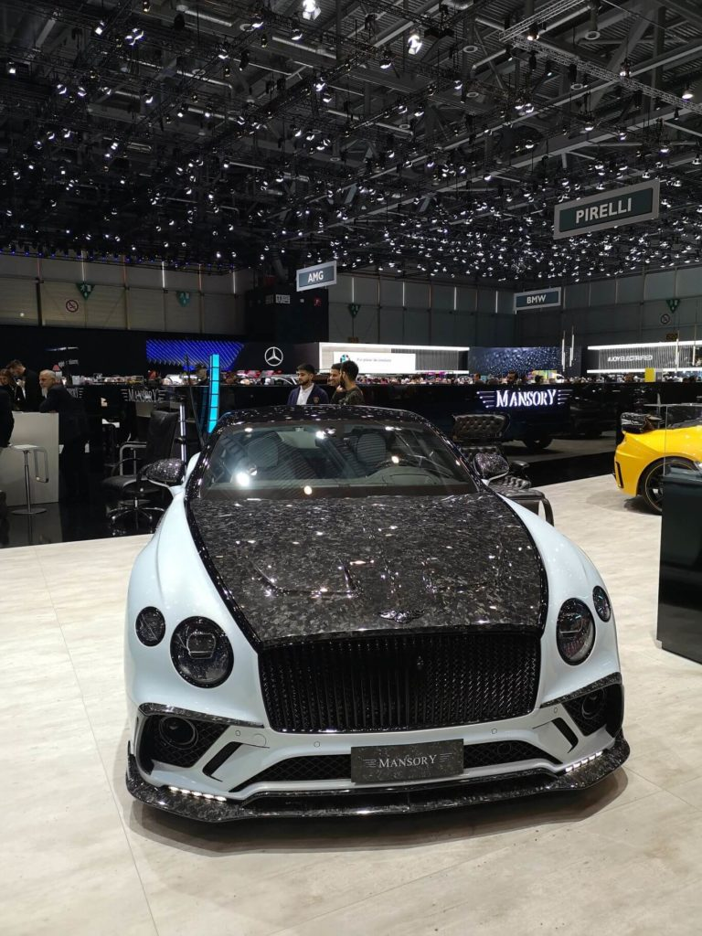 Mansory Bentley - Ženeva 2019