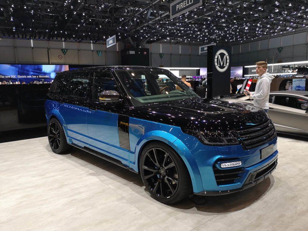 Mansory Range Rover - Ženeva 2019