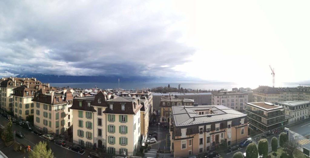 Lausanne a Ženevské jezero