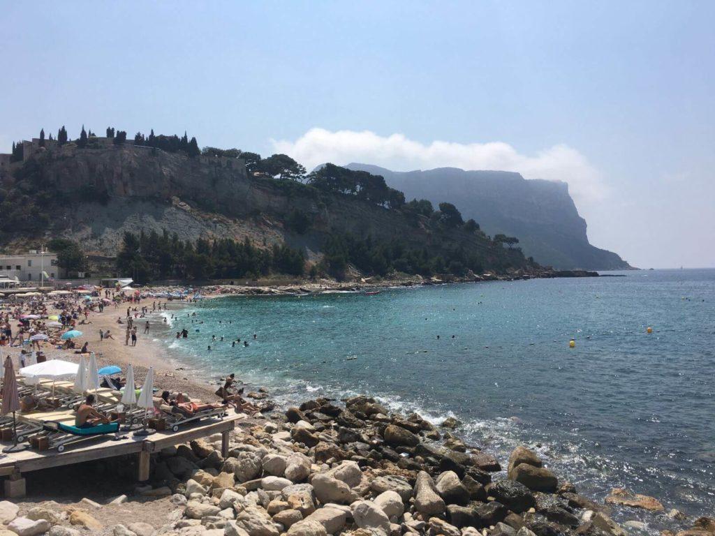 Cassis pláž