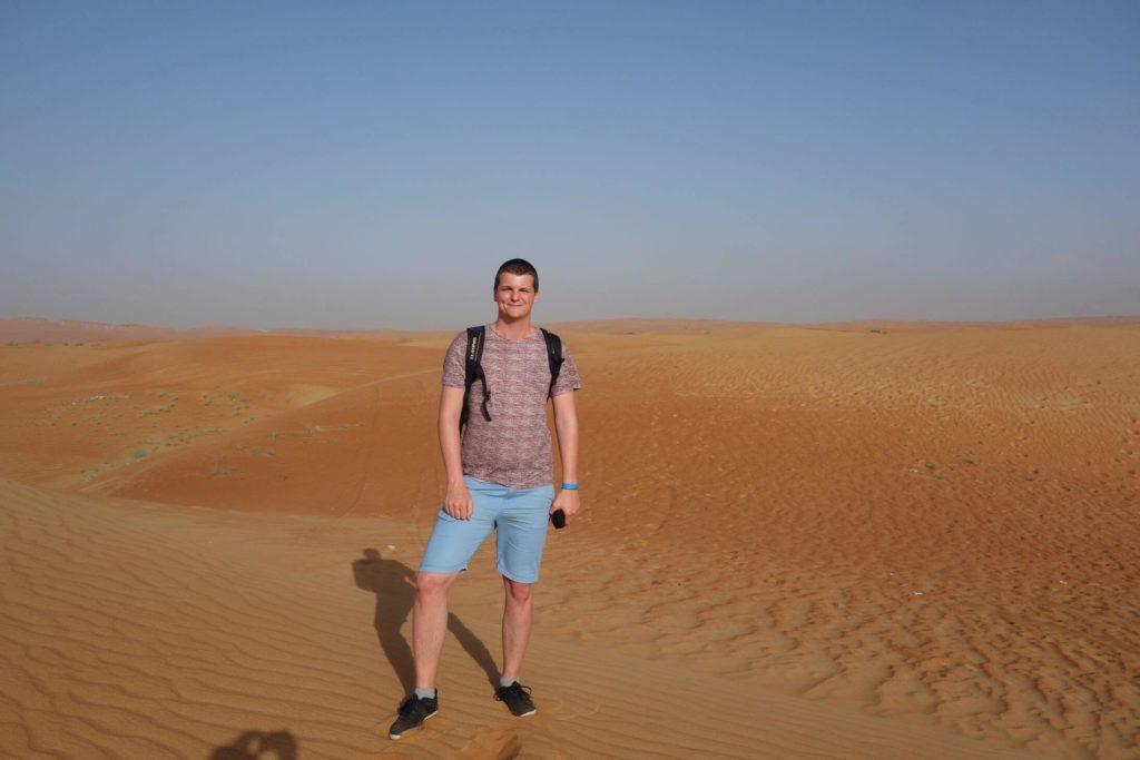 Petr v arabské poušti