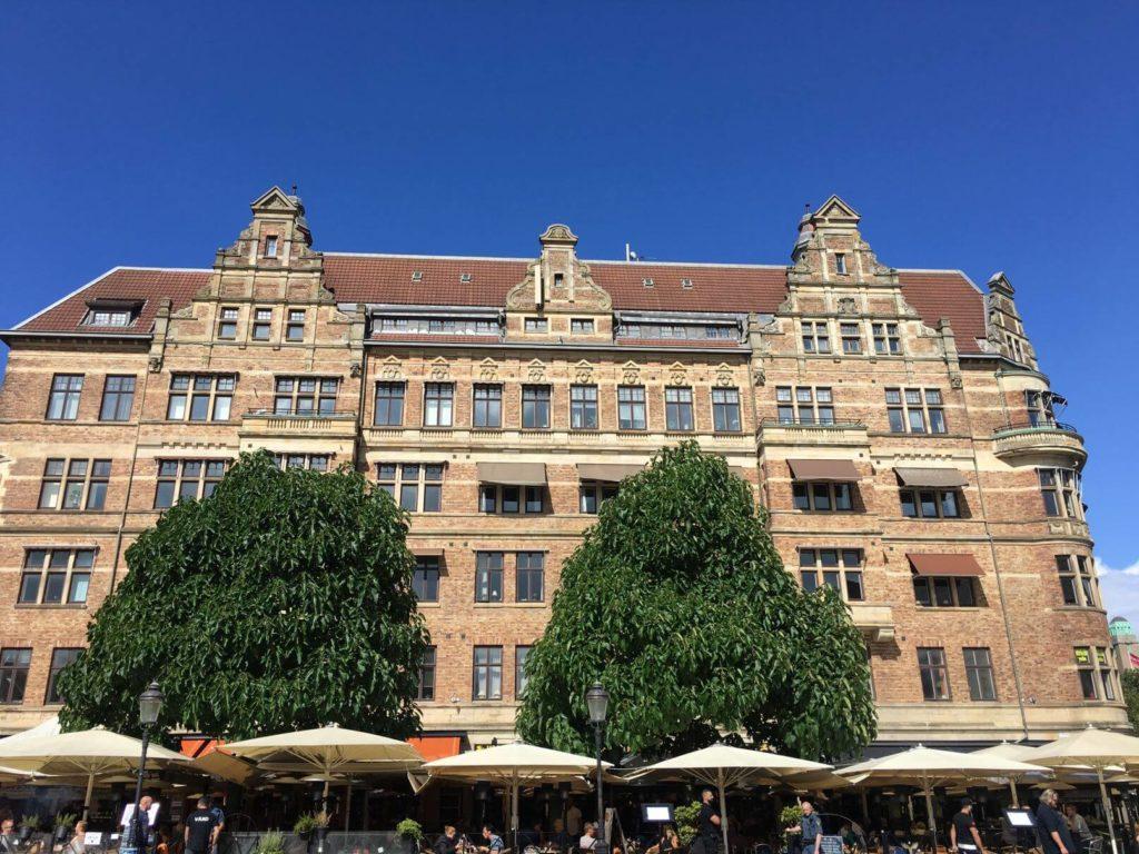Historické budovy Malmö