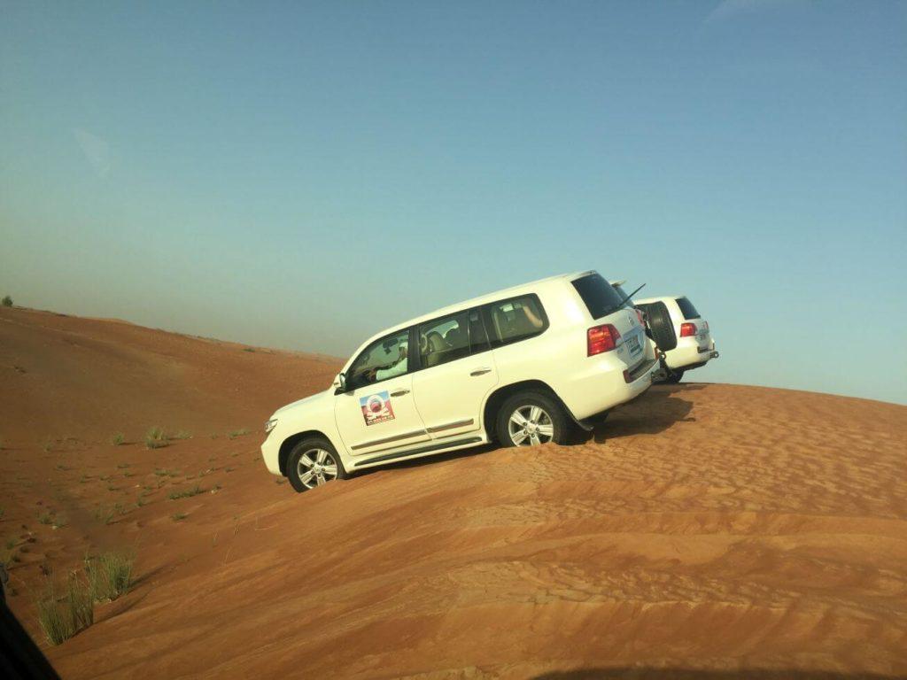 Spojené arabské emiráty - jízda v dunách