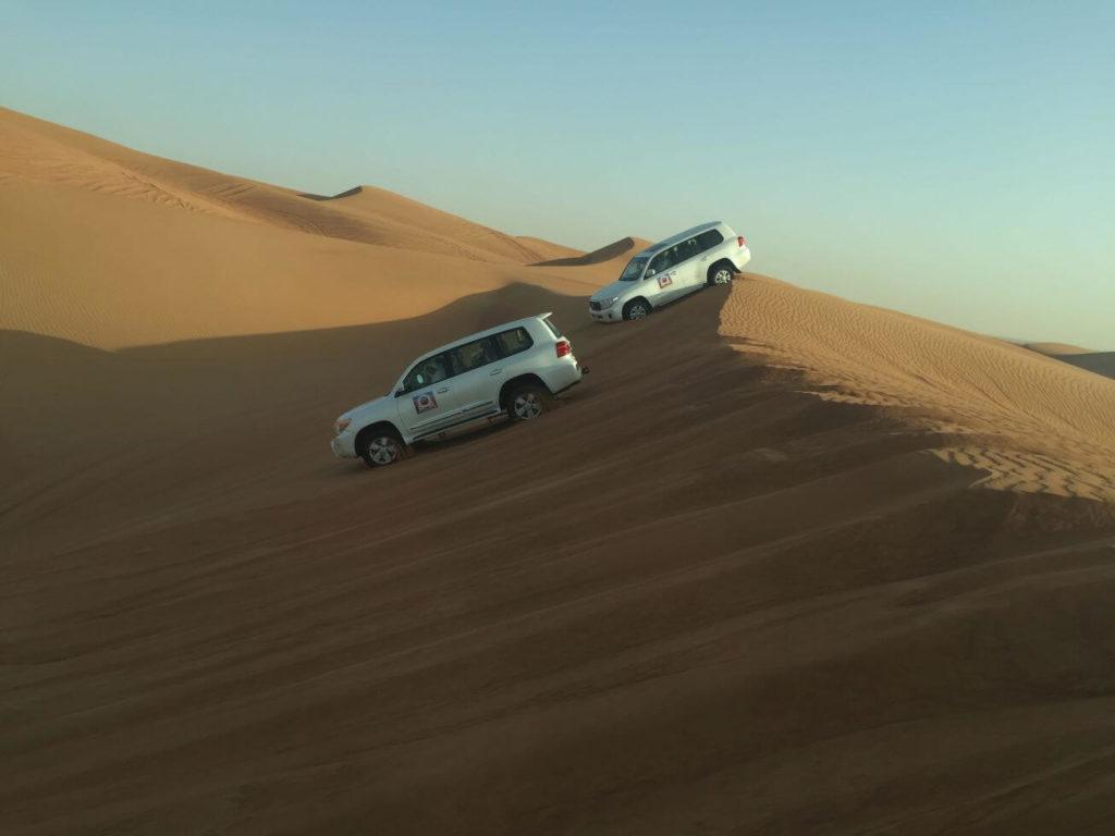 Jízda v dunách