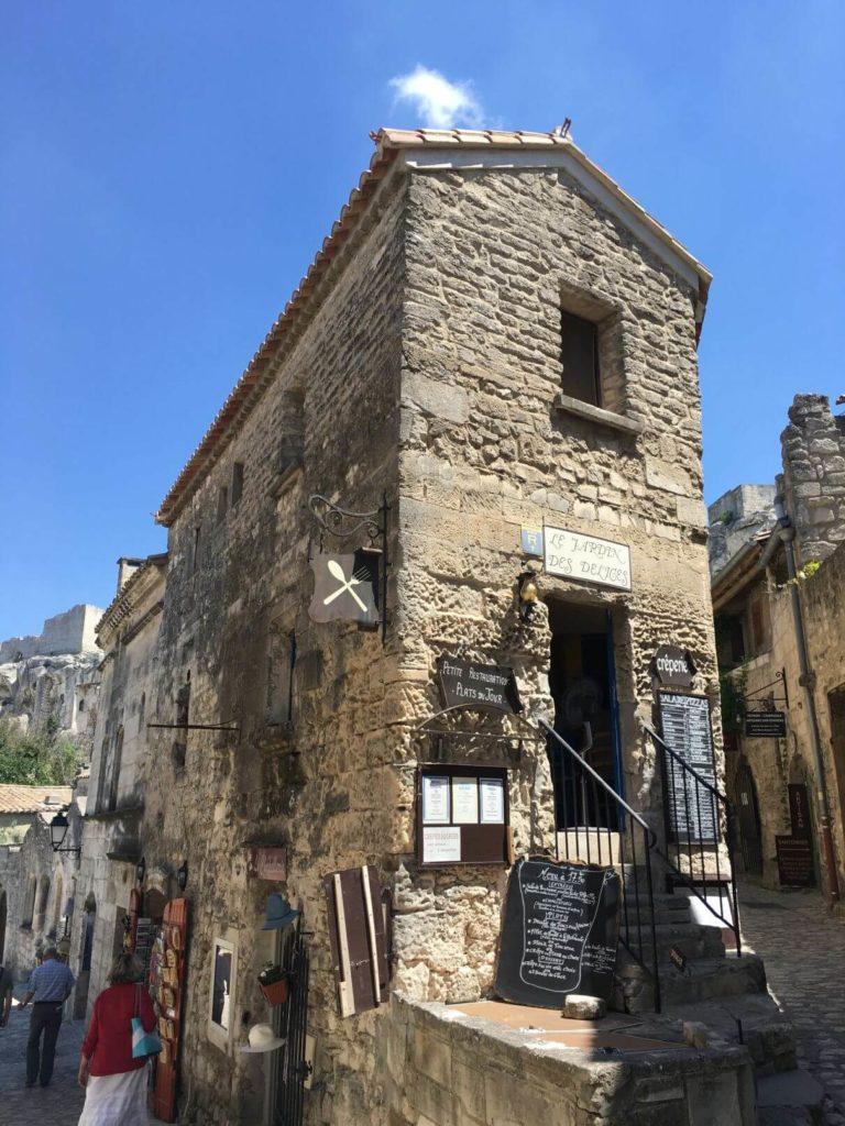 Kamenné domečky Les Baux