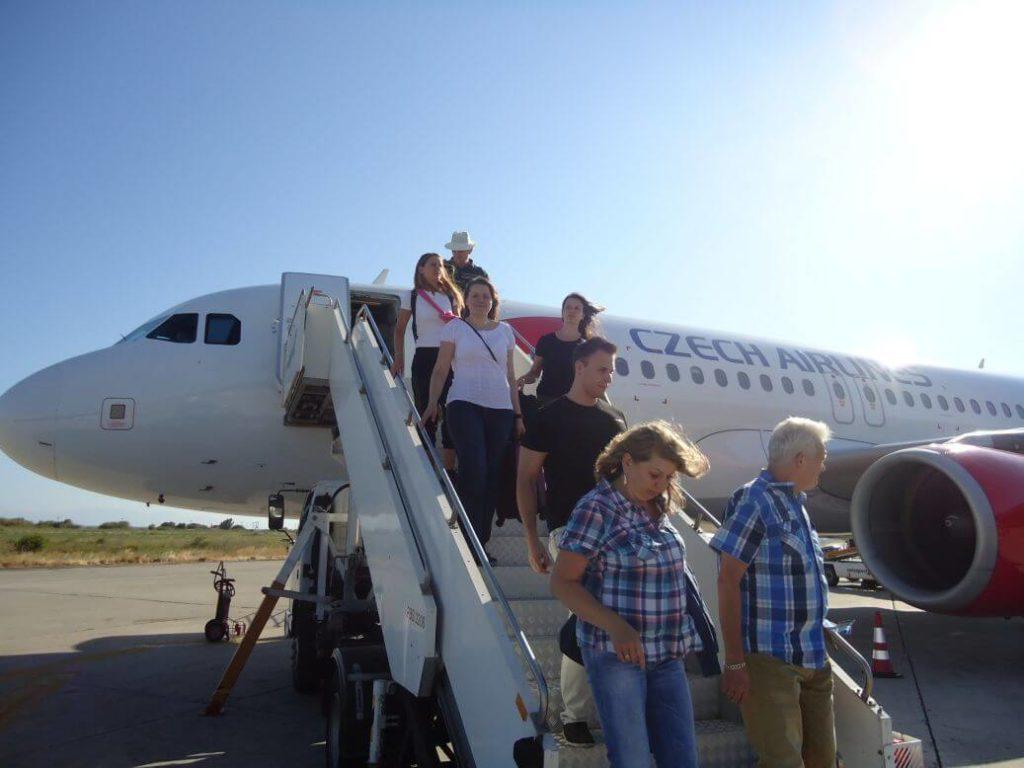 Letadlem na Rhodos
