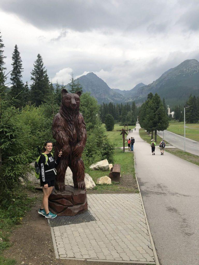 Medvěd Štrbské pleso