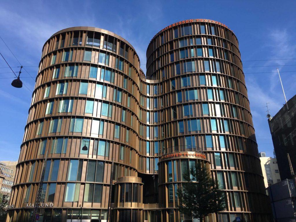 Moderní stavby Malmö