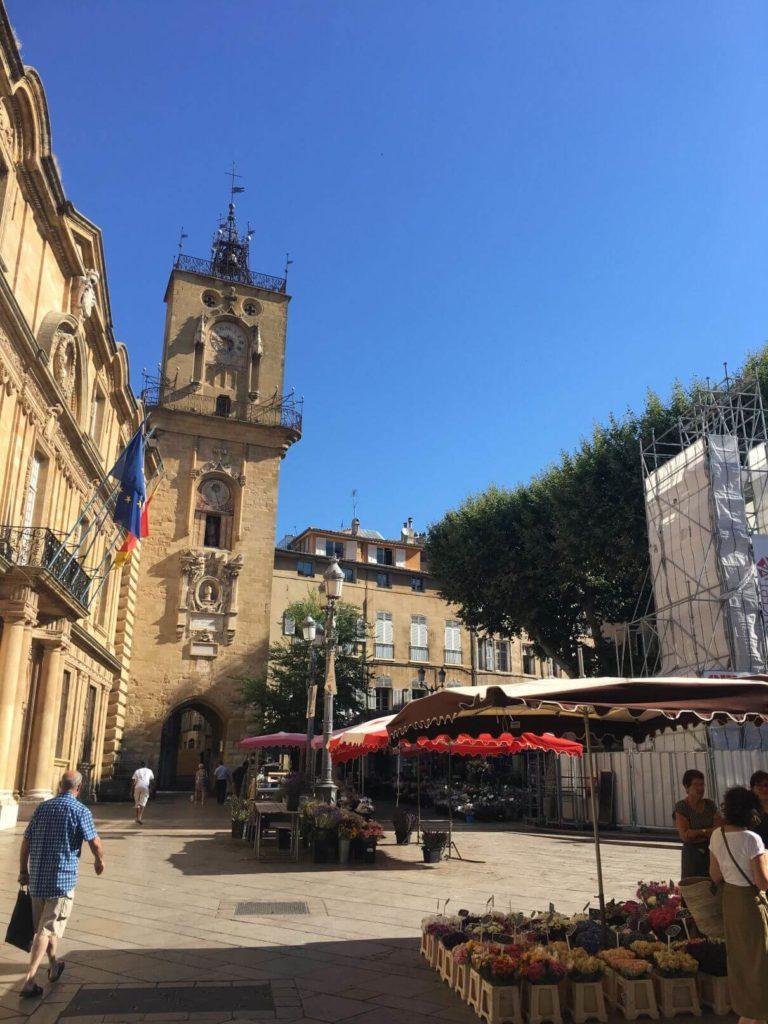 Náměstí Aix en Provence