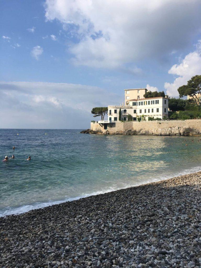 Oblíbená pláž v Cassis