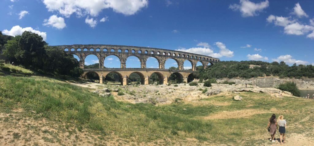 Pont du Gard panorama