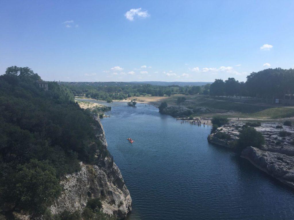 Řeka Le Gardon