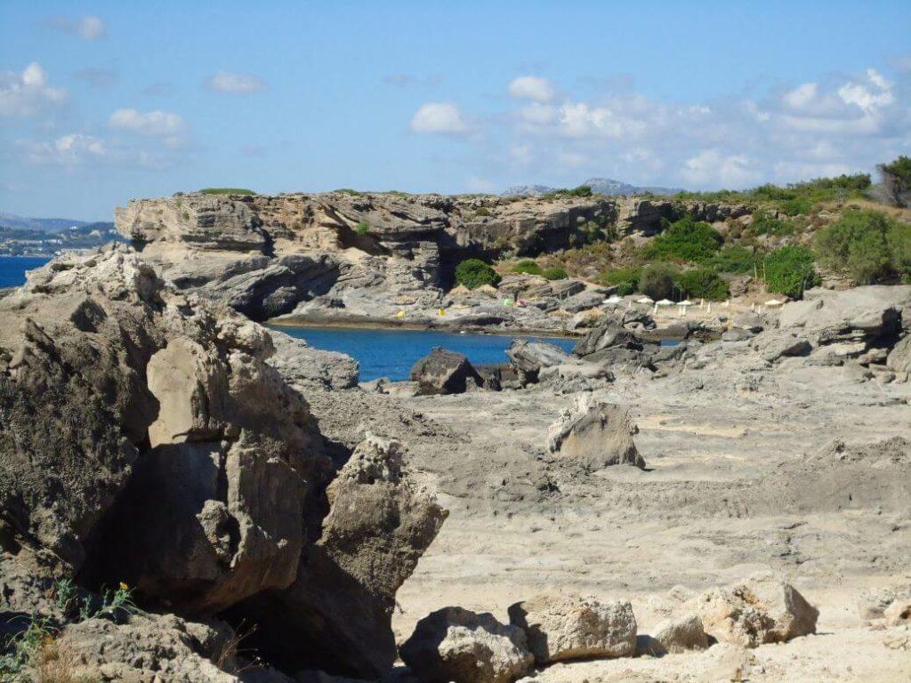 Rhodos útesy