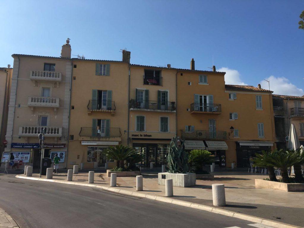 Saint Tropez městečko