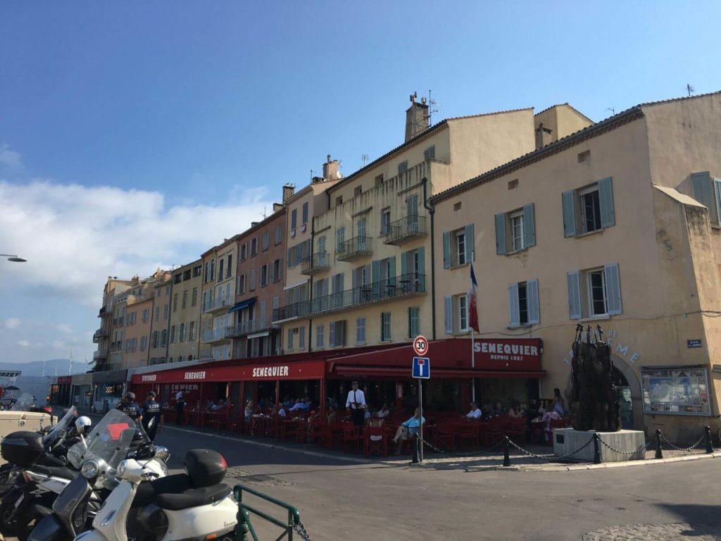 Saint Tropez restaurace