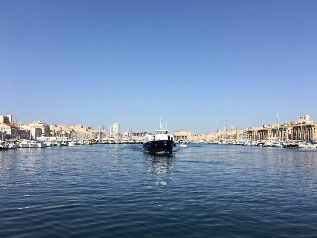 Vieux Port Marseille - lodě