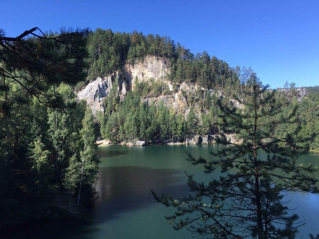 Adršpach jezero
