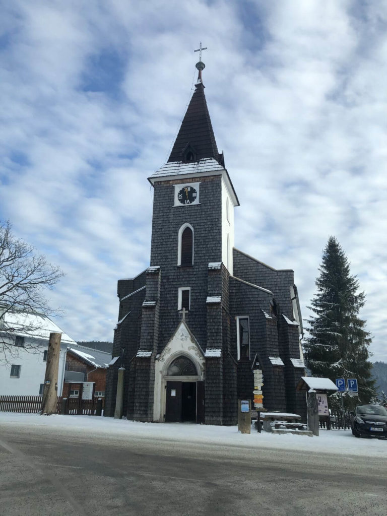 Horská Kvilda kostel
