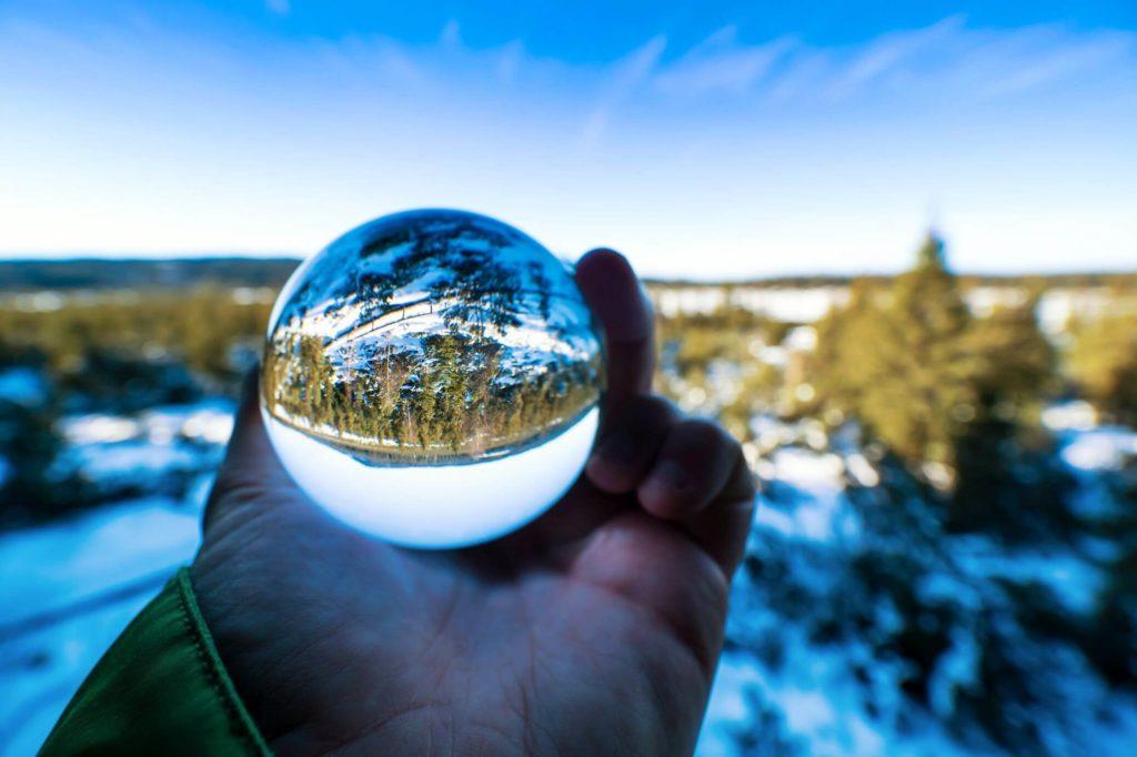 Jezerní slať koule