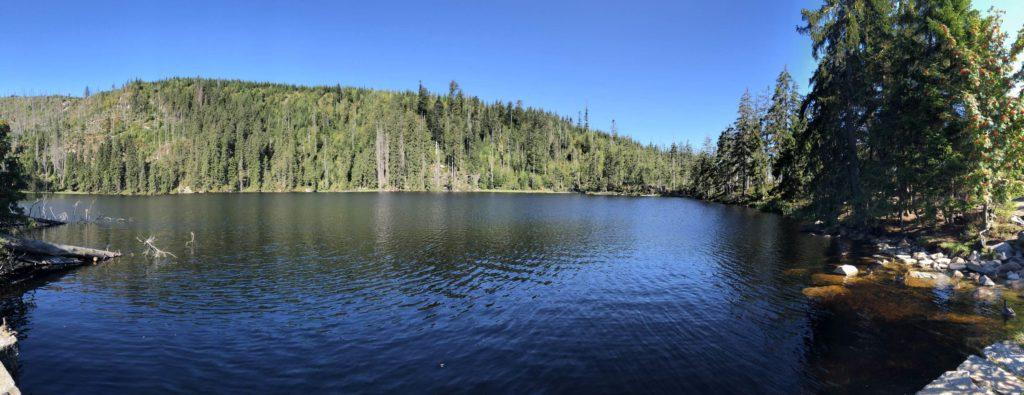 Prášilské jezero Šumava