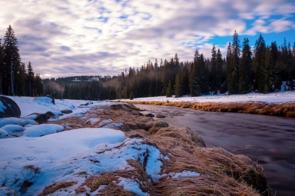 Roklanský potok Modrava
