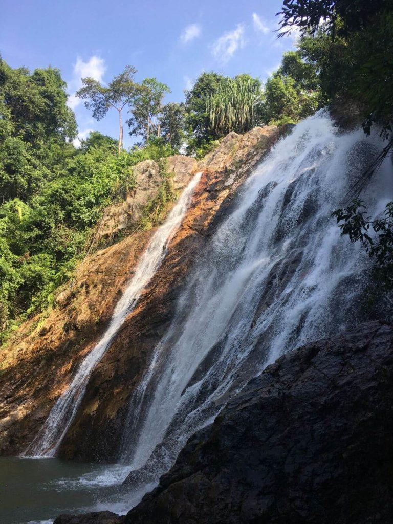 Vodopády Namuang