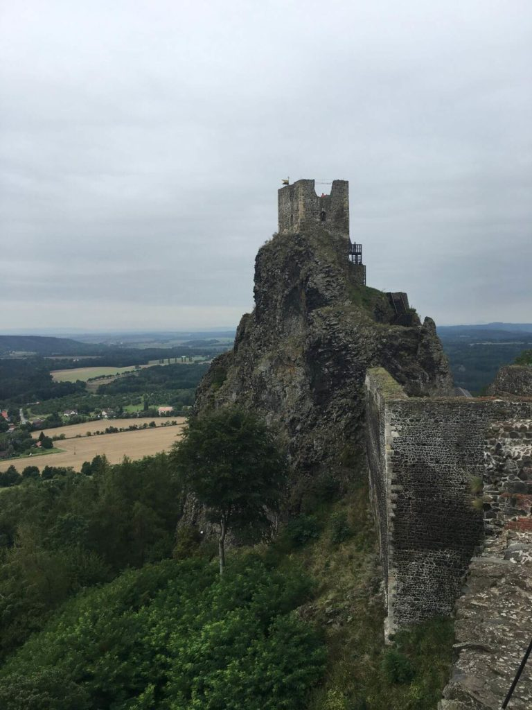 Hrad Trosky věž