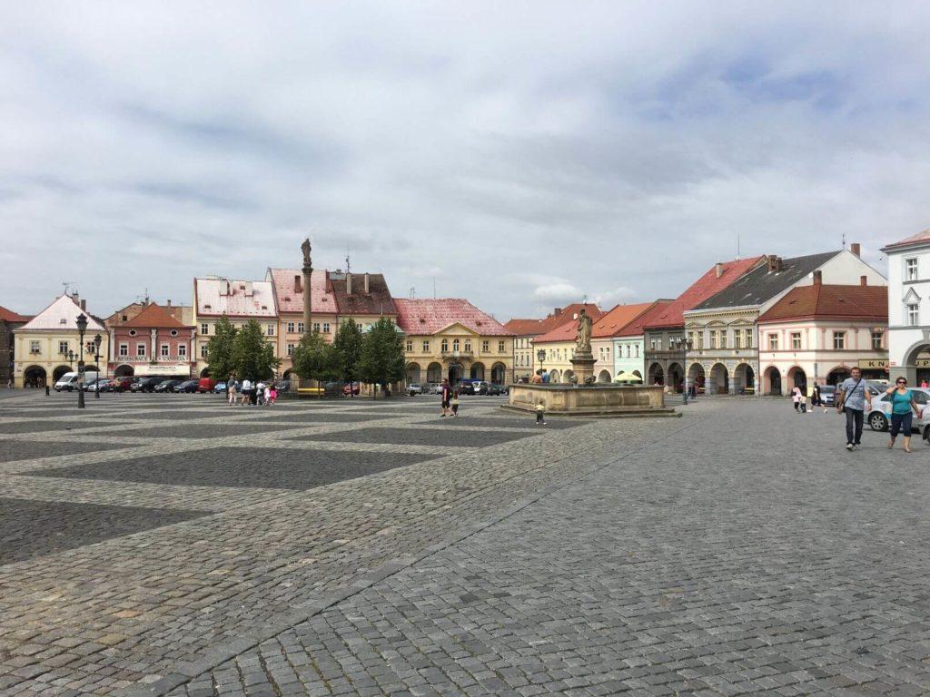 Valdštejnské náměstí Jičín