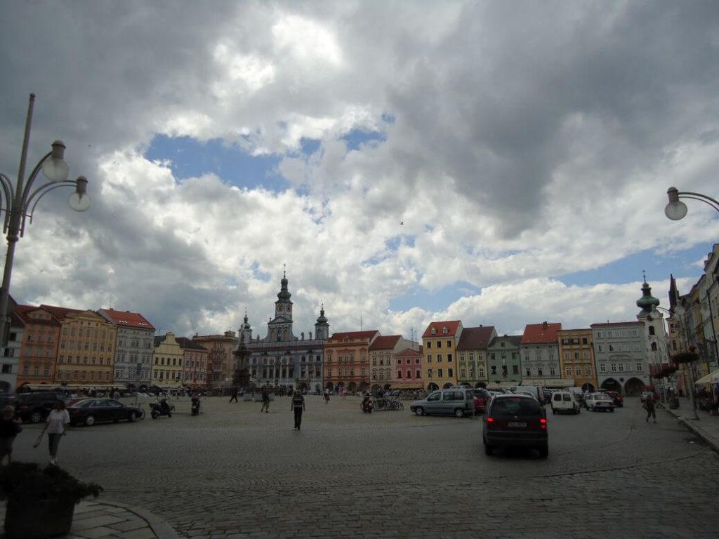 Náměstí České Budějovice