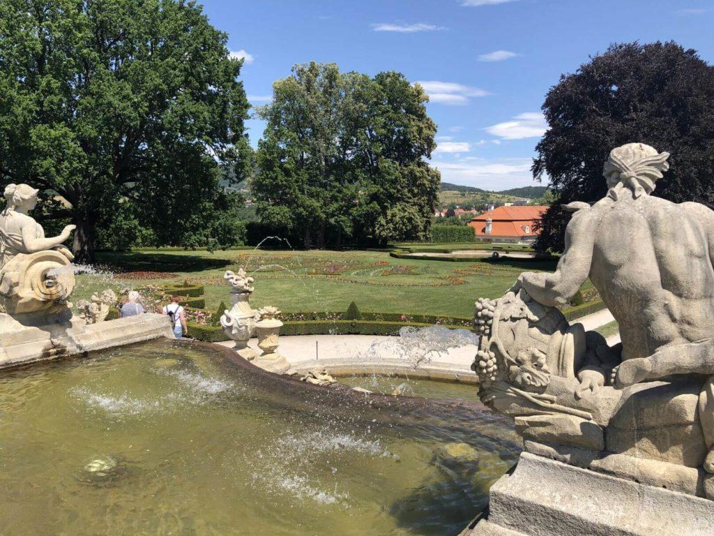 Zámecká zahrada fontána