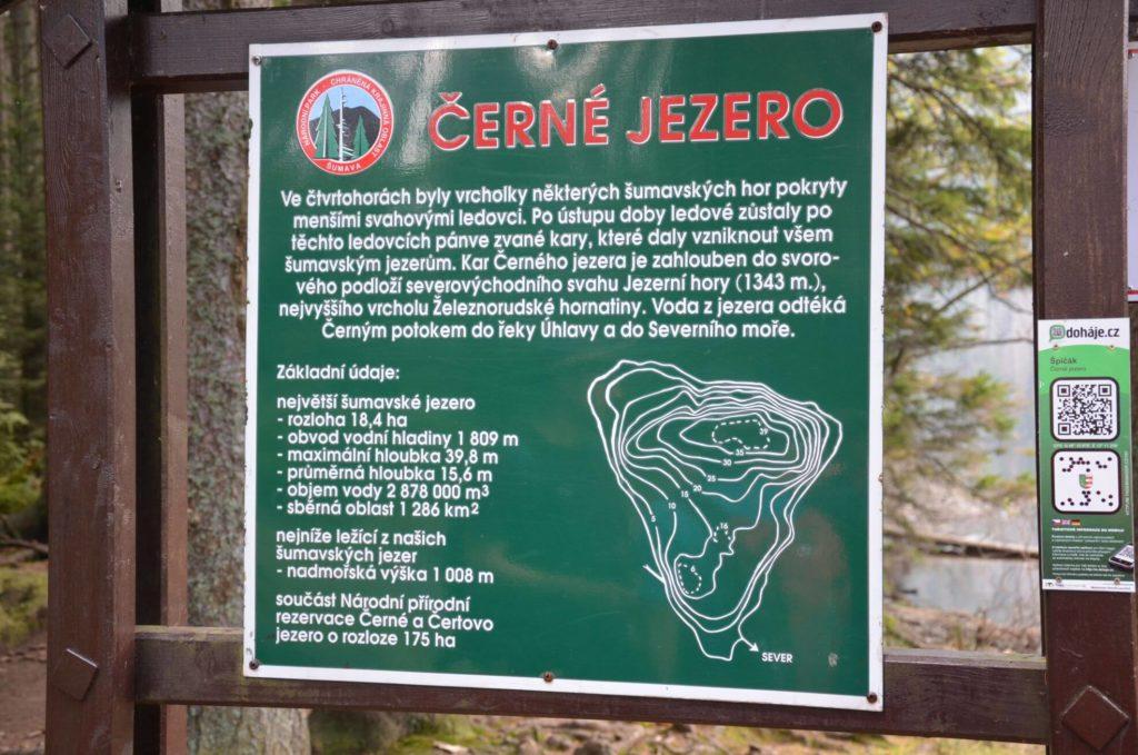Černé jezero info