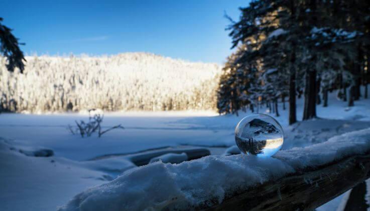 Čertovo jezero focení