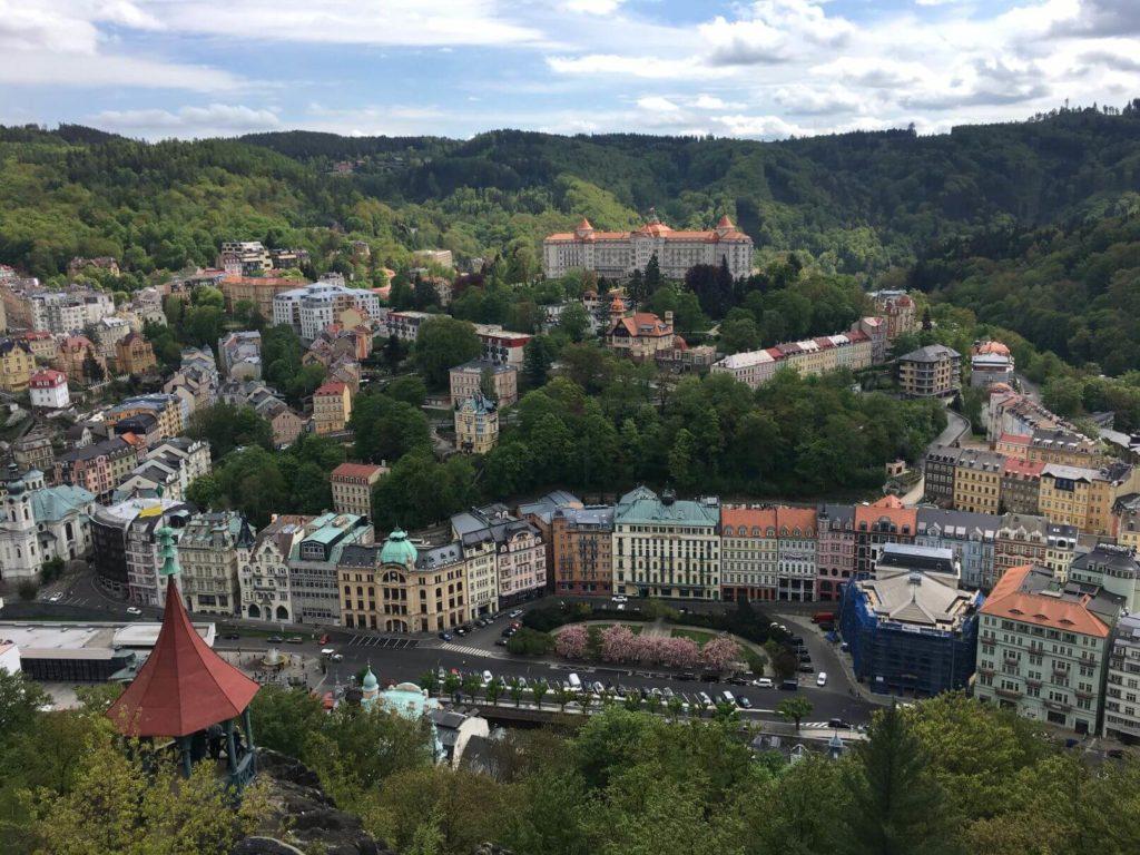 Karlovy Vary výhled