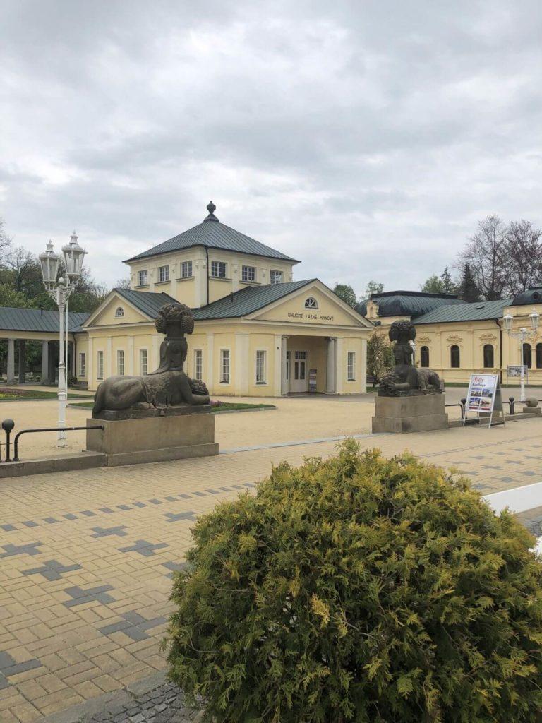 Kolonáda Františkovy Lázně