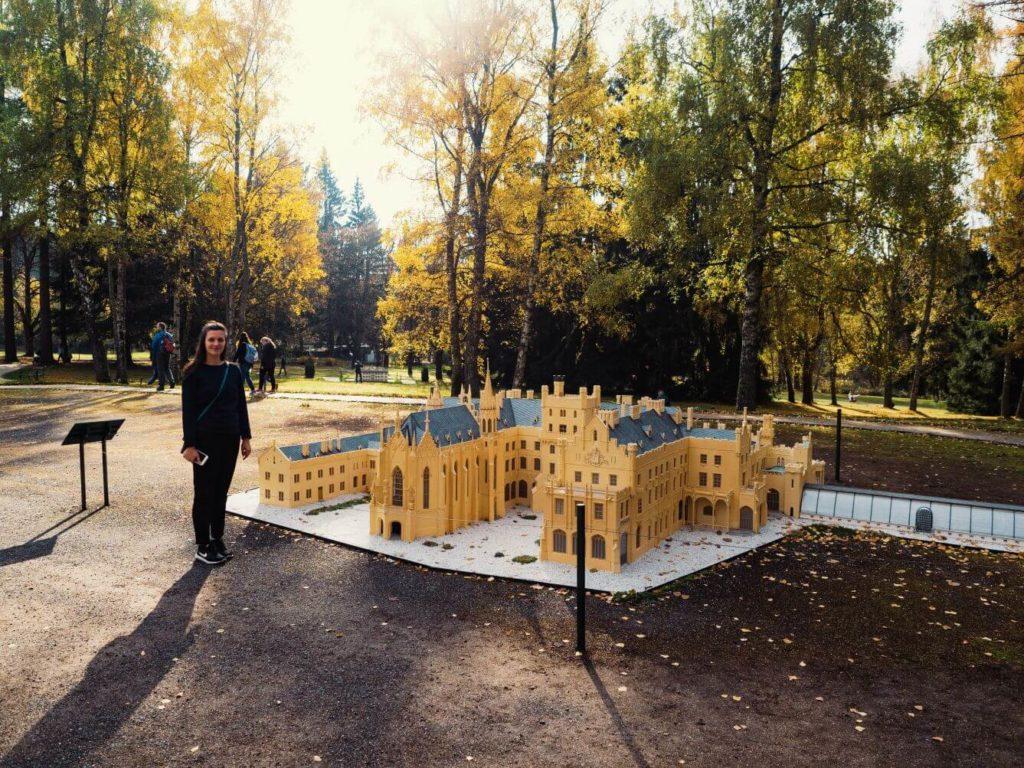 Miniatury Mariánské Lázně - Zámek Lednice