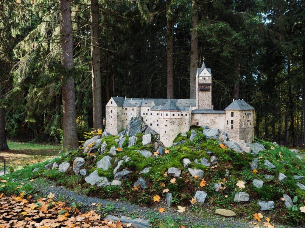 Miniatury Mariánské Lázně - Loket